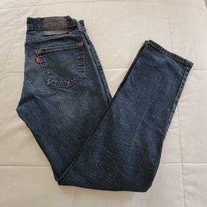 Mens Levi's 511 Slim Fit Flex Denim Jeans, 30x30